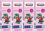 Teraxyl Mon Premier Dentifrice Goût Fraise 1-6 Ans Tube 50 ml - Lot de 4