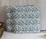 storeindya - Set von 2 Kissenbezüge Kissenbezug - Blumenmuster Design Platz Kissen Fall für Sofa Couch - Toss Kissen Wohnzimmer Home Decor Bettwäsche Zubehör