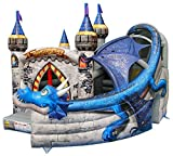 Commercial Bouncy Castle - Inflatable Bouncy Castle - Dragon Age Style - Happy