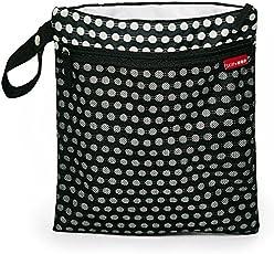 Skip Hop Grab and Go Wet and Dry Bag (Black)