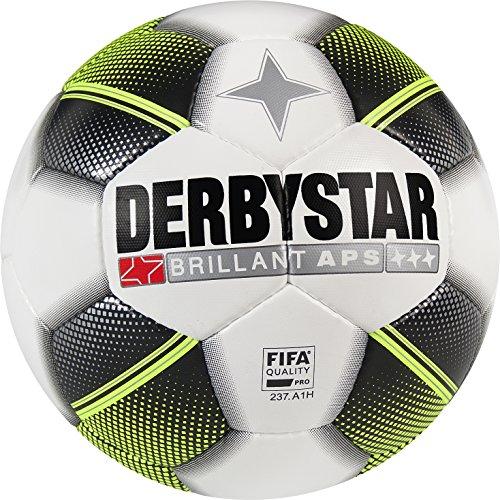 Derbystar Brillant APS, 5, weiß schwarz gelb, 1730500125 (Premium-jugend-hosen)