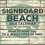 Signboard Beach 2018 Calendar