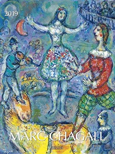 Marc Chagall 2019: Kunst Gallery Kalender