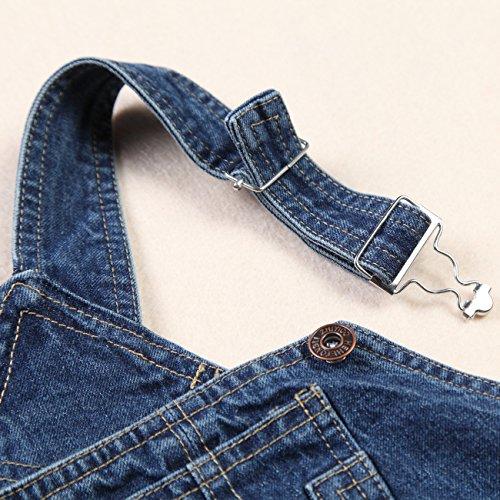 ZOEREA Baby Trägerhose Latzhose mit zwei Tasche Fashion Baumwolle -