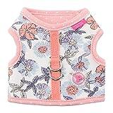 Pinkaholic New York Zinnia Pinka Hundegeschirr, klein, Elfenbeinfarben