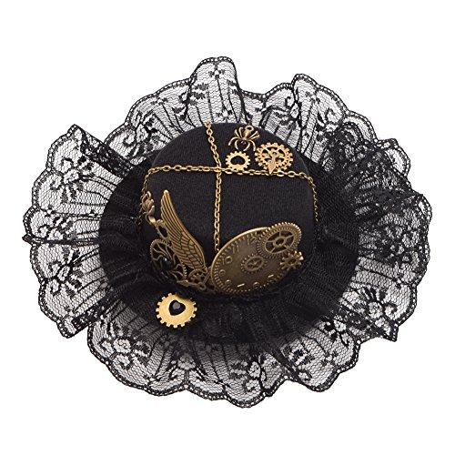 GRACEART Damen Steampunk Mini Zylinder Kopfbedeckungen(J)