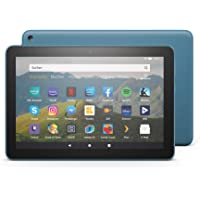 Fire HD 8 tablet, 8 inch HD display, 32 GB, dark blue, with advertising, for entertainment ...