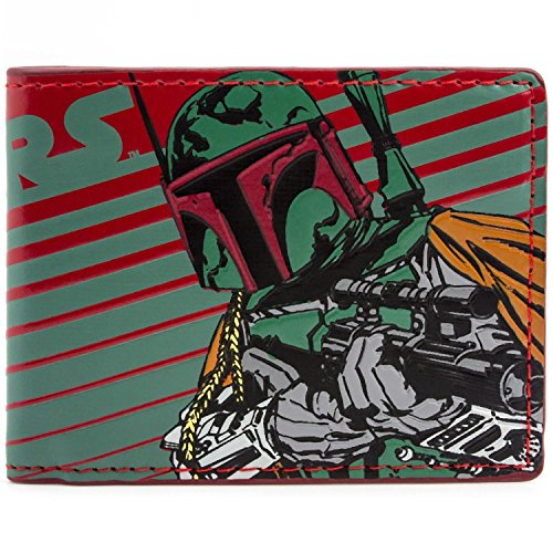 Hunter Kostüm Bounty - Star Wars Boba Fett Bounty Hunter Mehrfarbig Portemonnaie Geldbörse