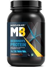 MuscleBlaze Beginner's Whey Protein Supplement (Chocolate, 1 Kg)