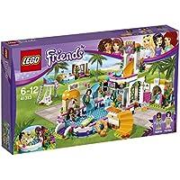 Lego Friends - La piscine d'Heartlake City - 41313 - Jeu de Construction