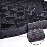Phot-R P40200-GRD 40 x 2030cm Professionelle Fotografie Universal Rechteckigen Stoff Honeycomb Weich-Ei-Kiste Gitter für Square Studio Softbox Schwarz