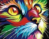 DIY ölgemälde Malen nach Zahlen Neuerscheinungen Neuheiten - DIY Gemälde durch Zahlen, Malen nach Zahlen Kits digitales Ölgemälde (Ohne Frame, Color-1)