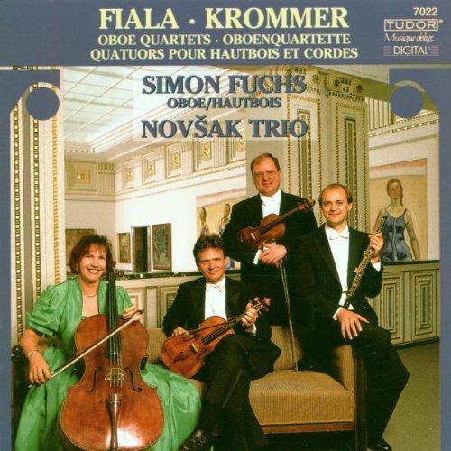 Frantisek Kramar-Krommer / Josef Fiala: 4 Oboenquartette (Oboe Quartets)