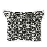 Eule Tasche Damen Strandtasche groß mit Reißverschluss Canvas Schultasche (Geometrie)