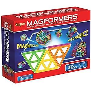 Magformers - 2042615 - Jeu De Construction - Super - 30 Pièces - version import