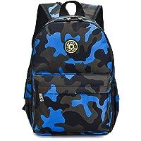 Estwell Kids Boys Girls Camouflage School Backpack Children Primary Schoolbag Book Bag Waterproof Nylon Rucksack Casual…