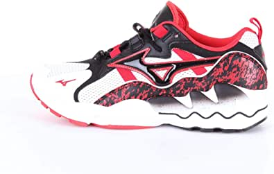 Mizuno Sneakers Uomo MOD. D1GAM25 White Black Red