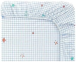 Designers Guild - To the Moon Drap Housse Coton Rose 90 x 190 cm