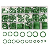 calistouk 270pcs fadensiegelung Metrisches O-Ring aus Gummi Klimaanlage Kit Dichtung Automotive