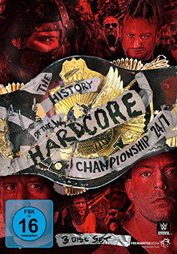 WWE - The History of the Hardcore Championship [3 DVDs] (Jericho Chris Dvd)