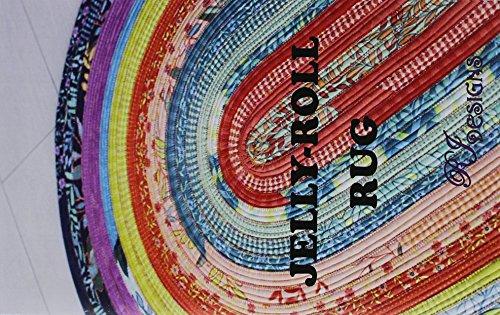 Jelly Roll Design (R.J. Designs RJD100 Jelly Roll Rug Muster Original Version)