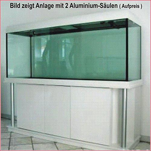 TAB Würfel Aquarium Kombination 100x100x80 cm/ 800 L. / Gl. 12mm / 2x39 Watt T5