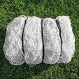 FORZA Fußball Tornetz Ersatznetze - robuste und wetterfeste Ersatznetze für Ihrem Fußballtor
