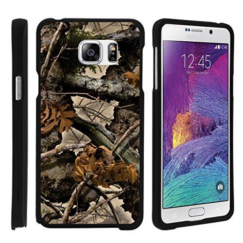 turtlearmor   Kompatibel für Samsung Galaxy Note 5Fall   N920[Slim Duo] Zwei Stück Hard Cover Slim Snap auf Fall auf Schwarz -, Tree Leaves Camouflage (T-mobile 2 Handy-fällen Note)