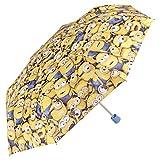 Perletti Minischirm / Regenschirm für Jungen Minions aus dem Film Ich - Einfach unverbesserlich - Manuell