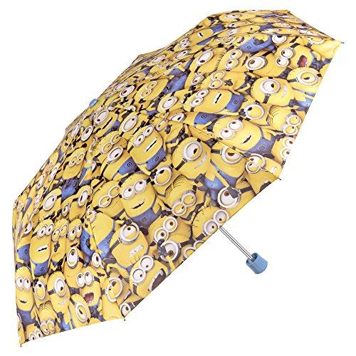 Perletti - Paraguas mini niño Minions Gru, mi villano