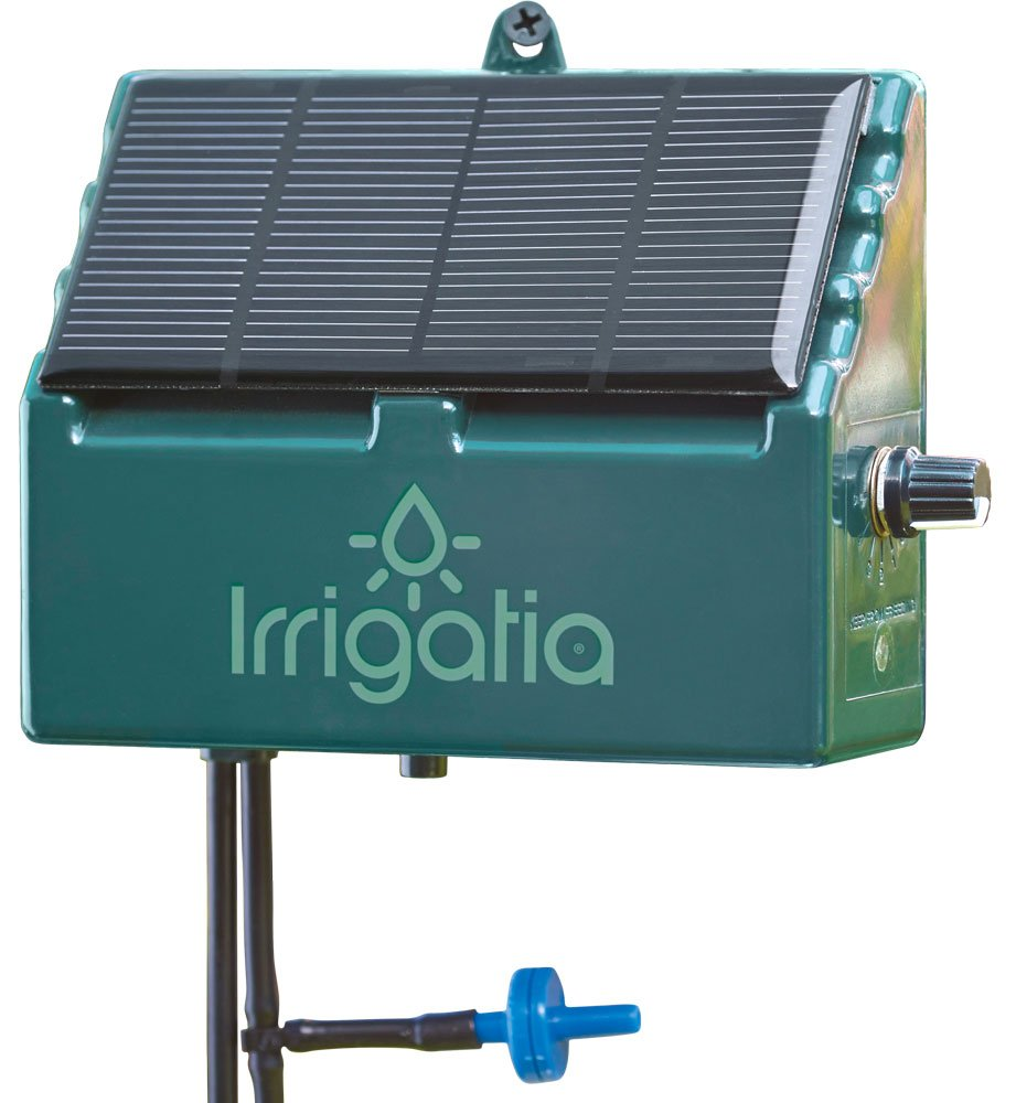 Irrigatia SOL-C12 Unique Solar Powered Weather Responsive Automatic Watering System, Green, 7 x 24 x 24 cm 1