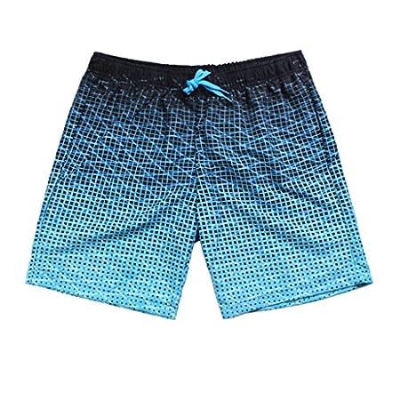 Gwell Homme Short de Bain Maillot de bain Shorts Plage Surf Séchage Casual Fashion