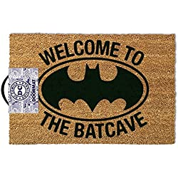 Welcome to the Batcave Batman-Doormat Dimensions: 60x 40cm, Material PVC Coir Entrance by Empire Interactive