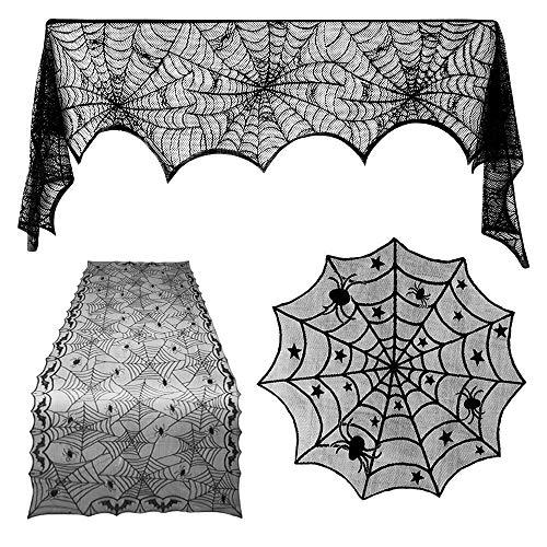 TUPARKA 3 Piezas Decoraciones de Halloween Set