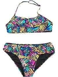 7c2ec4bad Poachers Ropa baño Niñas bebé Verano Dos Piezas natación Playa Conjuntos  Bikinis Cómodo Transpirable Suave Duradero