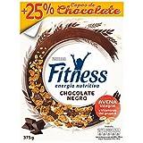 Cereales Nestl? Fitness con chocolate negro - Copos de trigo integral, arroz y avena integral tostados