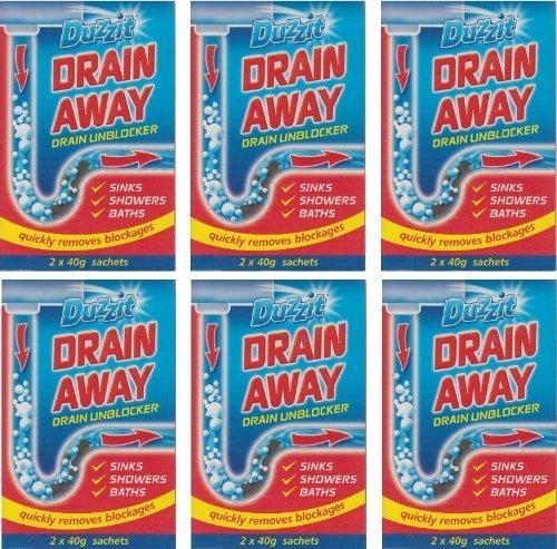 6-x-boxes-of-duzzit-drain-away-2-x-40g-sachets-sink-drain-unblocker