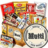 Beste Mutti + Geschenk Box + Süssigkeiten DDR + Geschenk Ideen Mutter