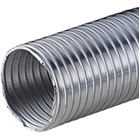 Tubo de aluminio Flex 3m Flex Tubo de 175mm de diámetro 175mm aluminio Tubo Flex Manguera Manguera Flex Tubo de aluminio flexible aluminio Tubo Alu Flex resistente al calor AF