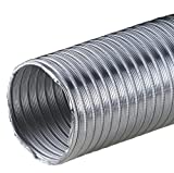Alu-Flex-Rohr 3m Flexrohr Ø 85 mm 85mm Alurohr Flexschlauch Schlauch Aluminium Aluflexrohr flexibles Aluminiumrohr Aluflex Hitzebeständig AF
