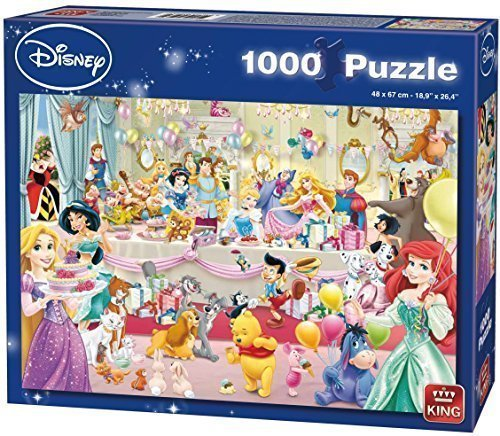 (KING 5264 Disney Happy Birthday Puzzle (1000-Piece) by KING)