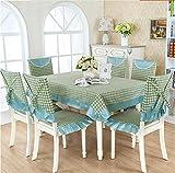 Pastoral Spitze Tischdecken, Tischdecken, Tischdecken, Tischdecken Stuhlkissen, Stuhlabdeckung,130*180CM