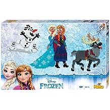 Hama Cuentas para formar diseños de Frozen, en caja gigante, de marca