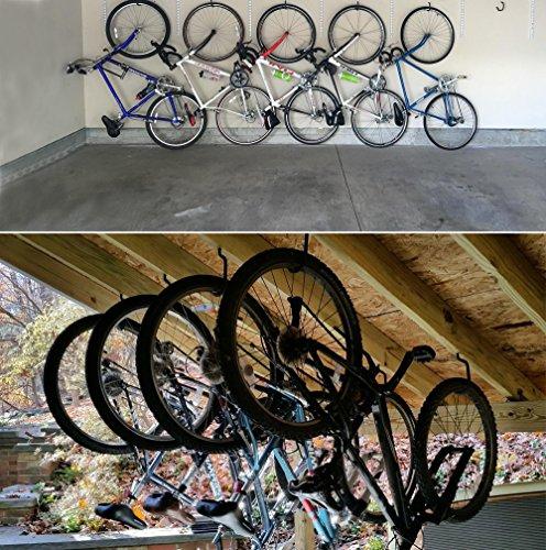 47dafe9c146e01 [Ganci per bici] Luxebell 8 Pezzi Ganci per Bici Ganci Ganci di stoccaggio  Biciclette Pesanti Set Gancio Montato Con 8 Bulloni in Plastica Soffitto a  Parete ...
