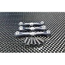 Tamiya TT-02 Upgrade Parts Aluminium Steering Tie Rod - 1 Set Silver