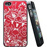 iSkin DRGIP4-RD3 Coque pour iPhone 4/S Rouge