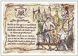 Geschenk Gerüstbauer Gerüstbau Zeichnung Color 30 x 21 cm