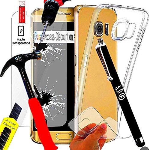 Lápiz–Juego de 3Accesorios para Samsung A52017+ Protector de Silicona Galaxy A52017+ Cristal Delantero Sobre medición (Vidrio Templado Compatible con el Samsung Galaxy A5