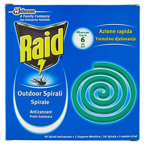 Raid espirales antimosquitos-10Unidades