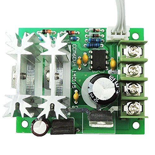 uniquegoods6V 12V 24V DC 10A 300W CCM6C PWM DC Motor Speed Controller Einstellbare Variable Speed Regulator Motor Speed Treiber-Schalter Test